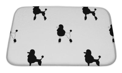 Bath Mat, Poodleprint