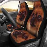 Amazing Tibetan Spaniel Print Car Seat Covers-Free Shipping