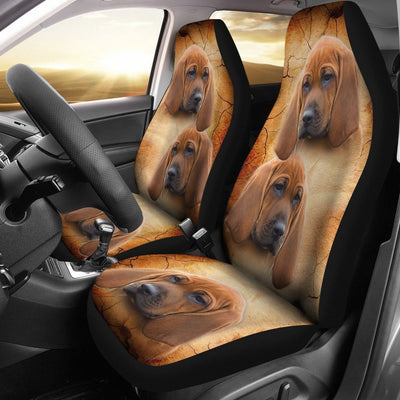 Redbone Coonhound Print Car Seat Covers-Free Shipping