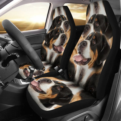 Amazing Greater Swiss Mountain Dog Print Car Seat Covers-Free Shipping