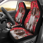 Amazing English Springer Spaniel Print Car Seat Covers-Free Shipping
