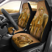 Dogue De Bordeaux Print Car Seat Covers-Free Shipping