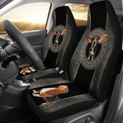 Basset Hound Print Car Seat Covers-Free Shipping