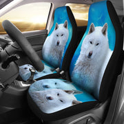 Amazing Hokkaido Dog Print Car Seat Covers-Free Shipping