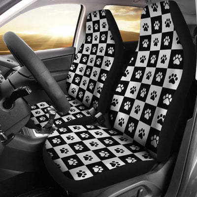 Dog Paws Print Car Seat Covers- Free Shipping