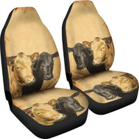 Dexter Cattle (Cow) Print Car Seat Covers-Free Shipping