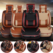 Puppy Inspired - 13 Piece Luxury PU Leather Car Seat Cover