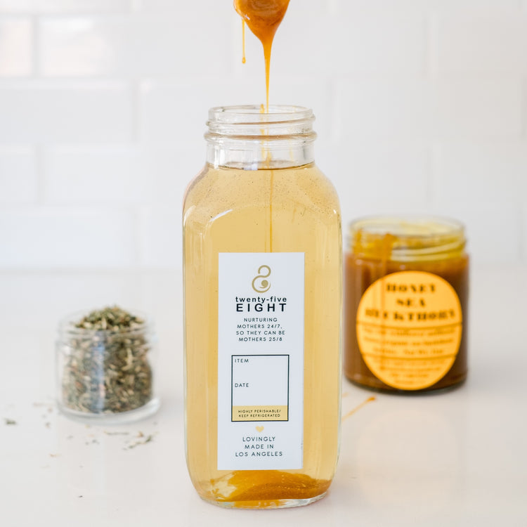 Wildcrafted Nettles Tea + Sea Buckthorn Honey