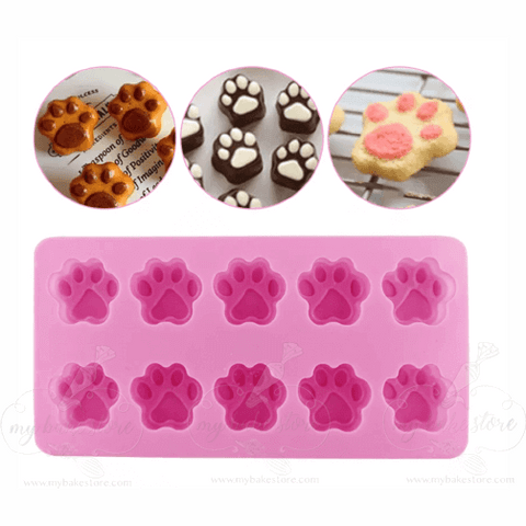 paw-print-silicone-mold