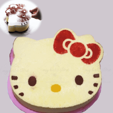 6 inch hello kitty mousse rng