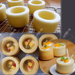 muffin entremet mold