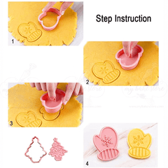 Christmas cookie plunger cutter
