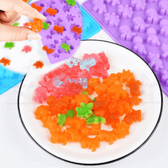 cute-dino jelly candies mold