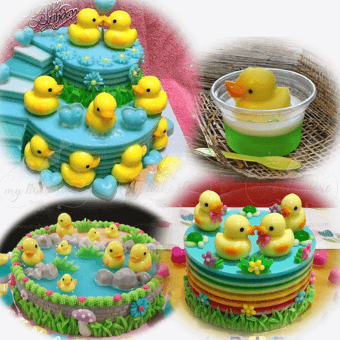 Duckie Jelly Mold