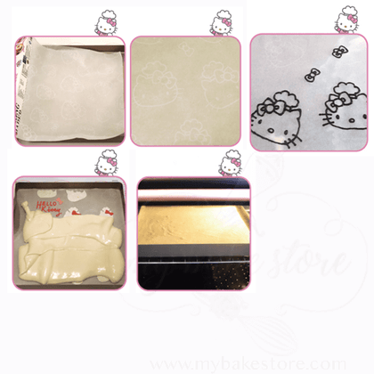 Hello kitty baking paper or parchment for baking