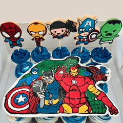 avenger cookie cutters