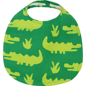 Baby Fair Trade Bib Aligator