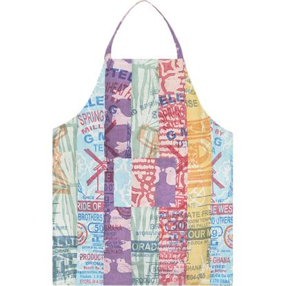 Fair Trade for Women Apron-Flour Sac patch