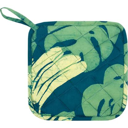Home Fair Trade Pot Holder - Banana Leaf Green