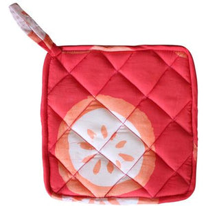 Home Fair Trade Pot Holder - Citrus Papaya