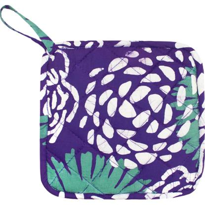 Home Fair Trade Pot Holder - Eggplant