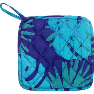 Home Fair Trade pot holder- Kakum Navy
