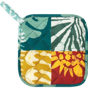Home Fair Trade pot holder - patchwork