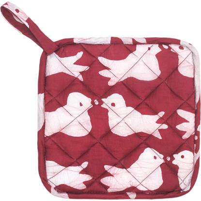 Home Fair Trade pot holder - Birds