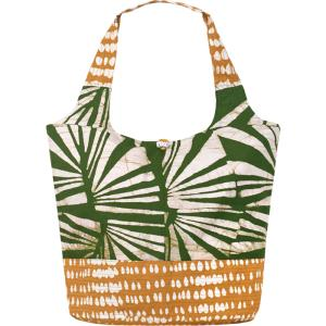Bucket Bag Tote Fair Trade Olive Rays