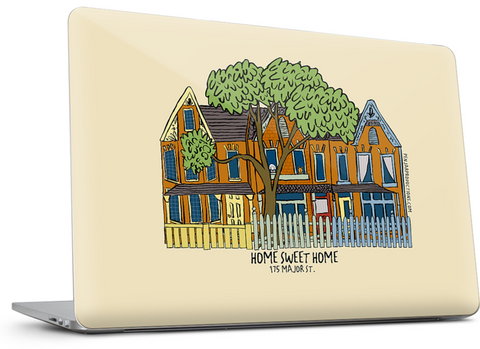 Put your family home on a laptop skin by Alison Garwood-Jones