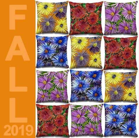Fall Throw Pillows by PenJarProductions.com