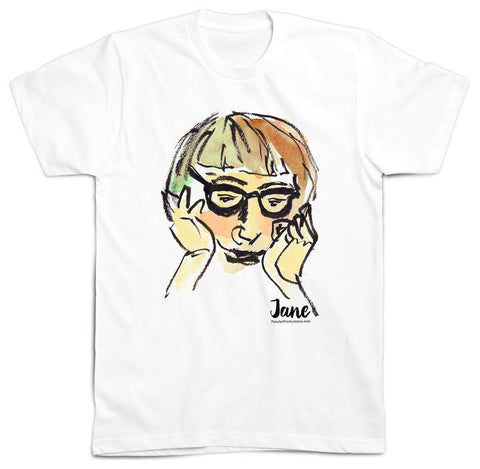 Jane Jacobs Tee Shirt by PenJarProductions.com