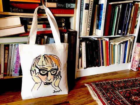 Jane Jacobs Tote Bag by PenJarProductions.com