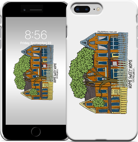 Put your family home on a your phone cover by Alison Garwood-Jones