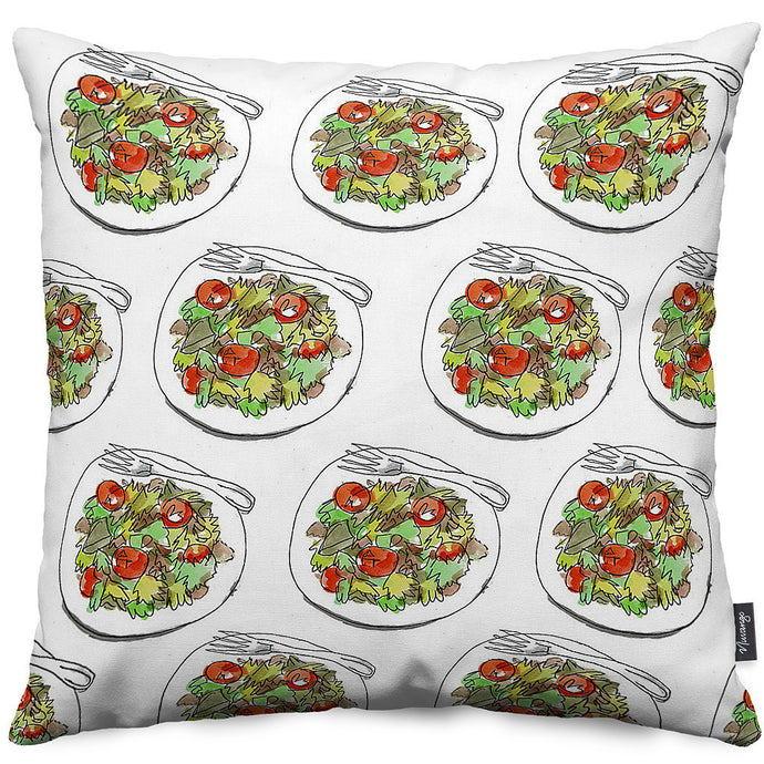 Salad Days Throw Pillow