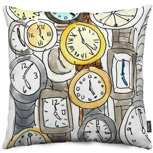Watches Throw Pillow