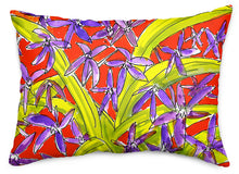 Siberian Squill Throw Pillow