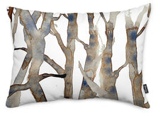 Spring Branches Throw Pillow