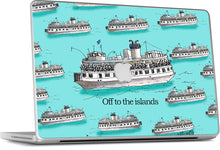 Toronto Island Ferry MacBook Skin (Aqua)