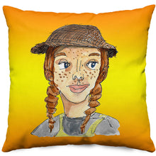 October Pillow in Gold