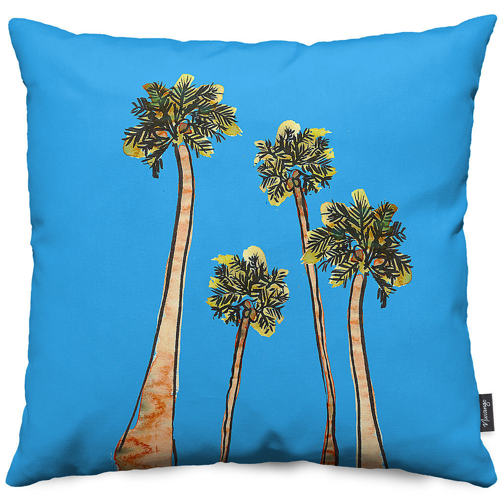 California Dreaming Throw Pillow