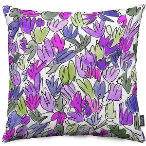 Glory-of-the-Snow Throw Pillow