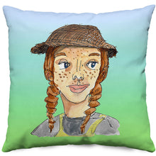 October Pillow in Green