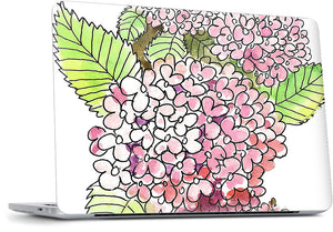 Hydrangeas MacBook Skin