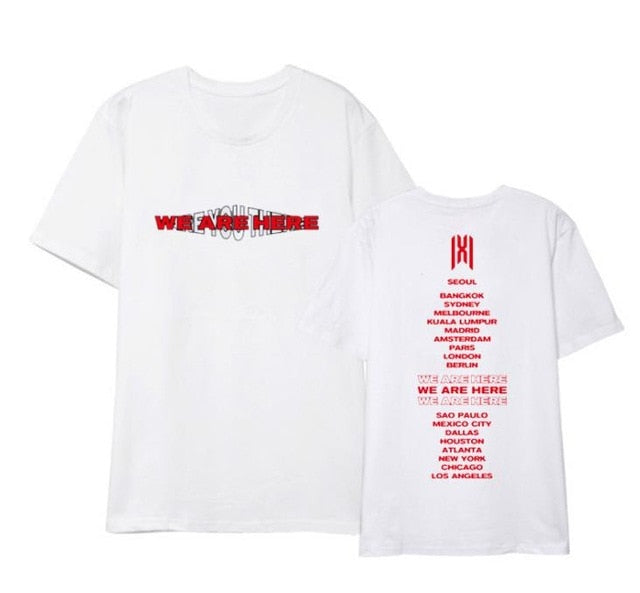 Monsta X We are here Shirts