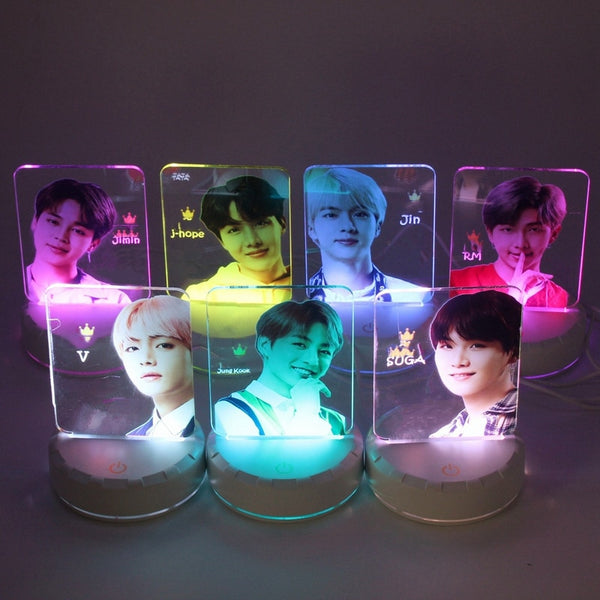 2019: BTS LED Bias Nacht Lampen