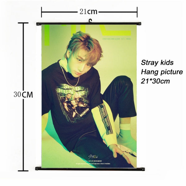 21x30cm Stray Kids MIROH Poster
