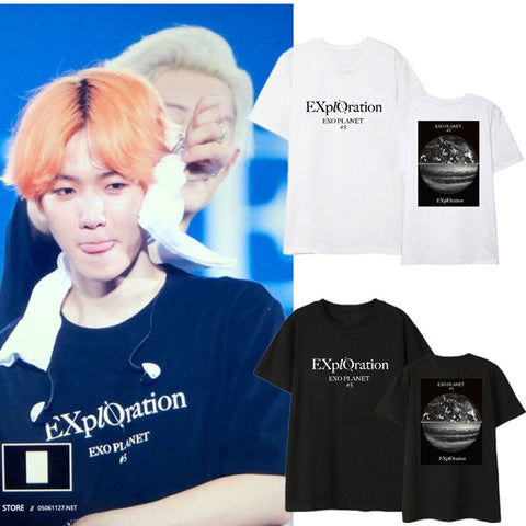 EXO 2020 Exploration Summer Shirt