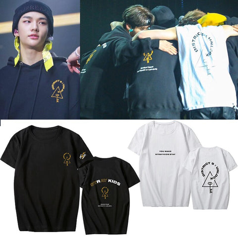 Stray Kids Concert Shirts District 9 Unlock - Boyfriend Size