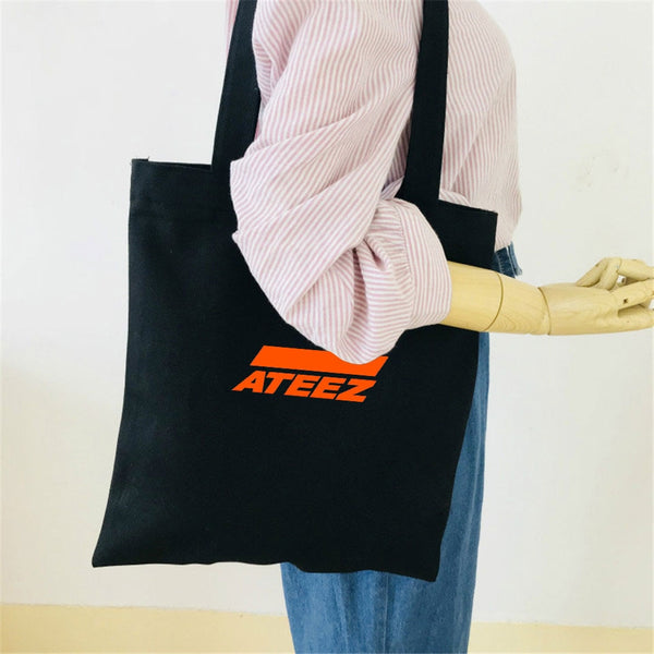 2020 Ateez Shoulder Bag - HQ Jute Beutel